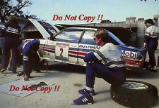 Walter Rohrl Opel Ascona 400 Brazilian Rally 1982 Photograph 1
