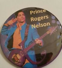 """PRINCE ROGERS NELSON"" BUTTONS BADGE PINBACK- MEMORABILIA-NEW!!"