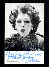 Rosita serrano EMI autographe carte original signé top # BC 745