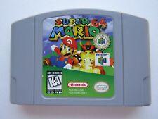 Super Mario Nintendo 64 N64 Authentic OEM Video Game Original Player Choice GOOD