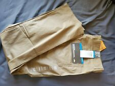 NWT Columbia Men's Rapid Rivers Pant, Sun Protection, Active Fit Flax Size38WX32