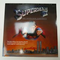 LaserDisc SUPERMAN II starring CHRISTOPHER REEVE 1980 Special widescreen edition