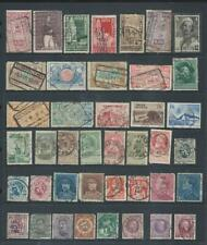 Belgium-lot 1 nice page of stamps from OLD collection [585]