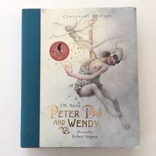 Peter Pan and Wendy by J. M. Barrie, illustrator Robert Ingpen (Hardback, 2004)