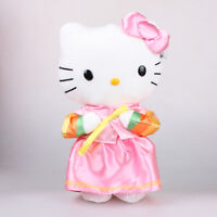 30Cm Sanrio Hello Kitty in Korean Dress Hanbok Plush Toys Soft Stuffed Doll