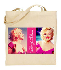 Shopper Tote Bag Cotton Canvas Cool Icon Stars Marilyn Monroe Ideal Gift Present