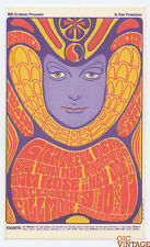Bill Graham 41 Handbill Grateful Dead Big Mama Thornton 1966 Dec 9