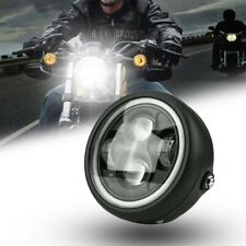 Universal Motorcycle Headlamp Motorcycle Front Light LED Headlight Red