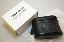 New Old Stock CONTAX G1 Camera Grand Prix 95 Genuine Leather Lens Case