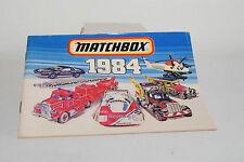 MATCHBOX CATALOGUE KATALOG 1984 INTERNATIONAL NEAR MINT CONDITION