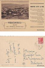 # VIDICIATICO SOTTO LA NEVE   1956