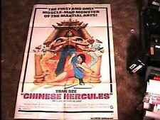 CHINESE HERCULES MOVIE POSTER '74 MARTIAL ARTS CLASSIC