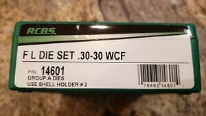 RCBS 30 30 WCF Win Winchester Reloading Dies Die Set BRAND NEW in Box