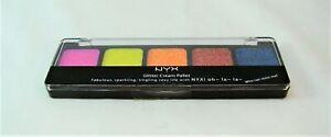 NYX Glitter Cream EDEN (GCP02) Eyeshadow Palette NEW in Case