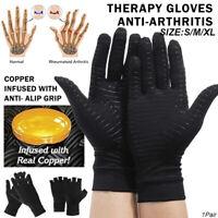 Poignet Soulagement de la douleur des doigts Gants de cuivre Gant d 'arthrite