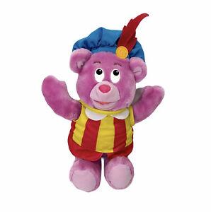 """Vintage 1985 Fisher Price Cubbi Gummi Bear Plush Pink Doll 13"""" Tall"""