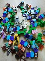 LEGO Minecraft Minifigures / Characters x5 Figs per order - Surprise Packs!