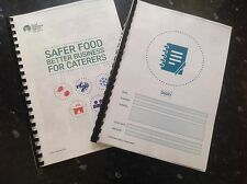 Safer Food Better Business For Caterers SFBB Restaurant Takeaway 12 month diary