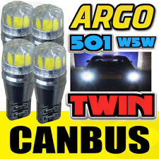 4x Mercedes S211 W211 Parte Delantera Luz Blanca Xenón Cree SMD Led T10 W5w