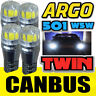 FORD FOCUS MK3 11-ON BRIGHT CANBUS LED SIDE LIGHT 501 W5W T10 WHITE BULBS 4 X