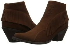 New in Box OG by Old Gringo Womens Nina Ankle Boot Brown Suede Size 9.5