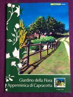 FOLDER 2011 GIARDINO DELLA FLORA APPENNINICA DI CAPRACOTTA   RARO