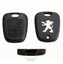 Cover Guscio Per Chiave Peugeot 307 406 206 106 207  Telecomando Caso Key New