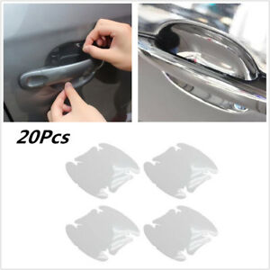 20X Invisible Clear Car Side Door Handle Paint Anti-Scratch Protector Film Sheet