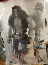 "ULTRA RARE 9"" DC Classic Lobo + Dawg weapons and 3D glasses SDCC marvel legends"