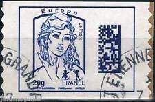 Y&T 1176A   timbre Ciappa DATAMATRIX Europe 20g 2015  OBLITÉRÉ adhésif de carnet