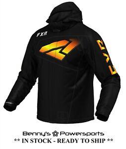 FXR Men's Fuel LE Jacket Waterproof Snowmobile Winter Coat F.A.S.T