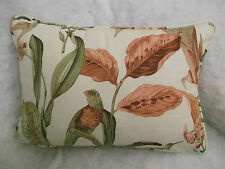"CROWSON PAPETE OBLONG CUSHION 20"" X 14 ""(51 CM X 36 CM) DOUBLE SIDED/ZIP OFF"
