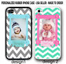 Personalized Photo Chevron Case For iPhone XR XS 8 7 Custom Picture Rubber Cover