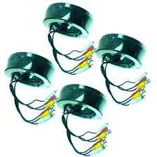 4 x 45Ft CCTV Video Audio Cameras Cable BNC+Power+RCA