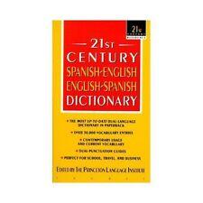 Diccionario español/inglés - inglés/español:.21st Century Princeton Language Ins