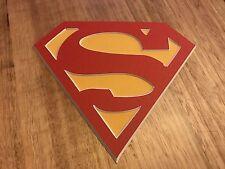 Comic Box Logo Label - Superman - Short box/ Long Box Emblem