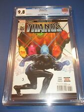 Thanos #17 Hulk Annual #1 Homage CGC 9.8 NM/M Gorgeous Gem Wow