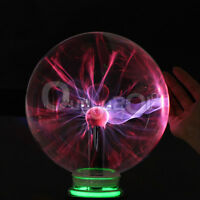 Disco Party Touch Sensitive Electrostatic Induction Plasma Ball Globe Light Lamp