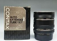 CONTAX AUTO EXTENSION TUBE SET