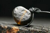 Perle de verre rare de Viking antique, artefact unique, 6ème-11ème siècle