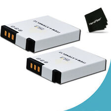 2 High Capacity EN-EL12 ENEL12 Batteries for Nikon Coolpix S6300 Digital Camera