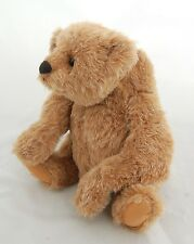 OOAK Teddy Bear Fritz signed original by Linda Spiegel Jointed Glass Eyes