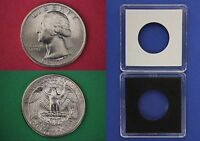 1977 P George Washington Quarter With 2x2 Case from Mint Set Flat Rate Shipping