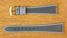 Gray W. Germany Tapered Genuine Leather Vintage Watch Band 18mm NOS Speidel 70s