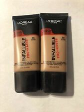 Lot of 2, Loreal Infallible Pro-Matte Foundation, 111 Soft Sable