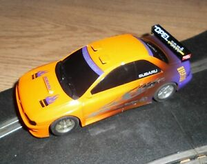 Scalextric Subaru Impreza Street machine touring / rally car superb and fast