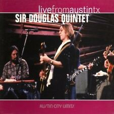 The Sir Douglas Quin - Live from Austin Texas [New CD] Di
