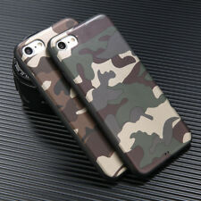 Boys Cool Army Camo Camouflage Phone Case Cover For Apple Iphone 8 Plus X 6S 7