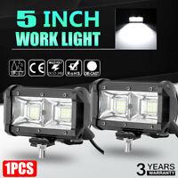 "5"" Spot Beam LED Work Light Bar Driving Fog Offroad SUV 4WD Car Truck Lamp JO"