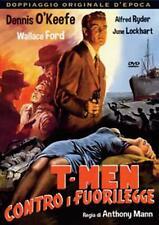 T-MEN CONTRO I FUORILEGGE  DVD THRILLER